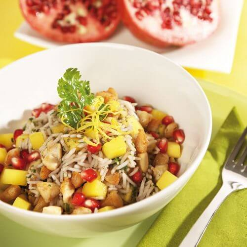 Geflügel-Reissalat